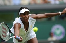 Venus out of another warm-up tournament