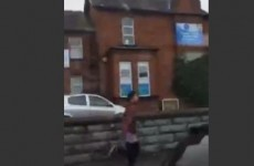 Belfast lad runs hopelessly after bus, accidentally humiliates himself