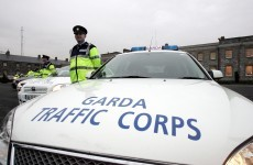 Garda arrested for suspected drink-driving after crashing into parked squad car
