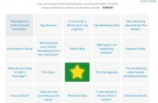 'Marriage equality bingo' is the genius game we've all been waiting for