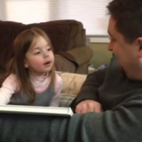 This little girl had a totally honest reaction to finding out she's going to be a big sister
