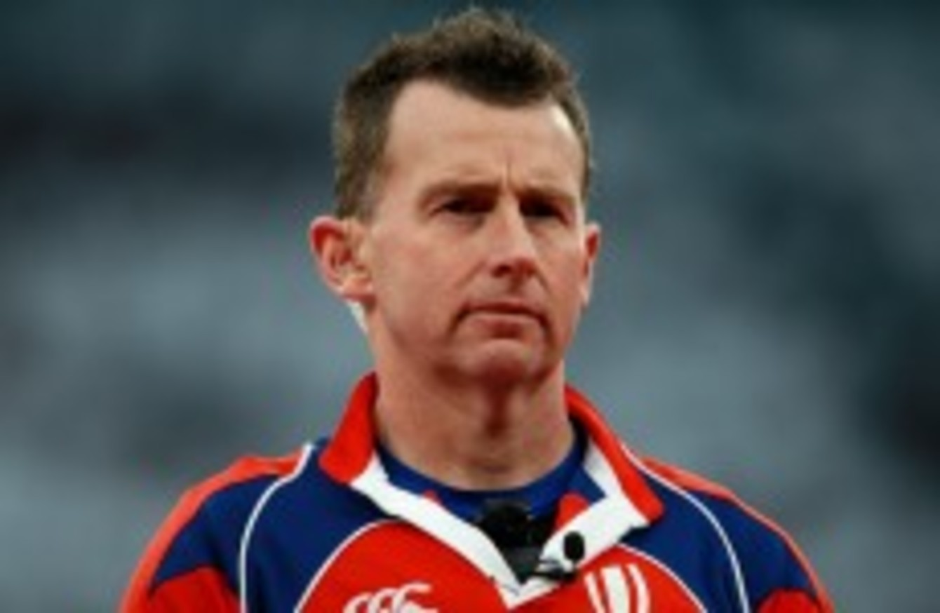 ca14edb02 Rugby referee Nigel Owens on  the one issue that soccer needs to address