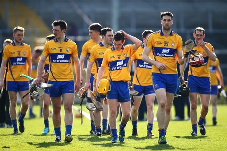 The Clare hurlers face Kilkenny in a relegation playoff next Sunday.