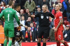 Skrtel given 3-game ban for De Gea stamp