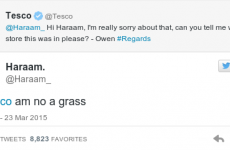 This Scottish lad had the best retort ever to Tesco on Twitter