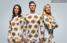 So McDonald's is selling Big Mac-patterned jammies now...