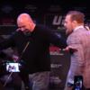 Things got pretty heated between Aldo and McGregor in Boston last night