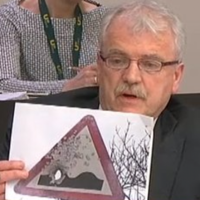 TD says road sign he showed justice committee MIGHT have been from the UK