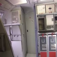 Video shows how cockpit door on crashed Germanwings plane works