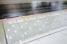 Rain-activated street art is exactly what Ireland needs