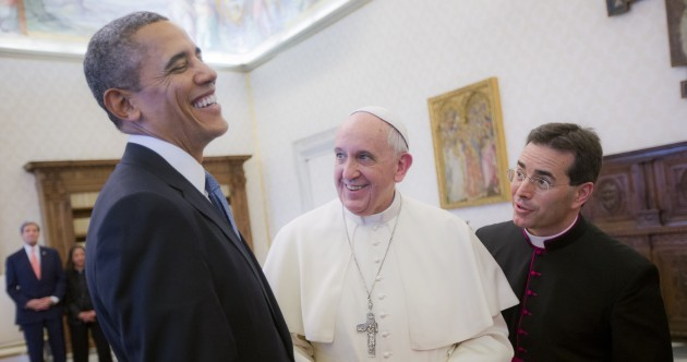 Pope Francis is heading to the White House