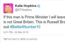 This Katie Hopkins tweet might have just decided the UK general election