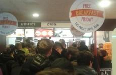 Ireland has lost the run of itself over free McDonald's breakfast