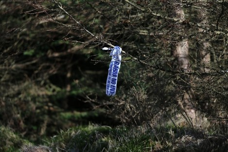 Kilakee forest in the Dublin Mountains where the remains of Elaine O'Hara were found on September 13 2013