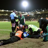 Wasps forward sent-off for knocking George North unconscious in sickening collision