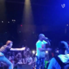 This Vine of a stage invader getting annihilated by rapper's bodyguard is hypnotising
