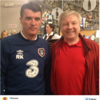 Roy Keane went to see 'I, Keano' last night (seriously)