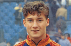 On this day 22 years ago, 'The King of Rome' made his senior debut as a fresh-faced teenager