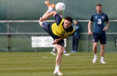 'I'll stop playing and stop scoring goals when I can hardly walk' - Keane ready for Poles