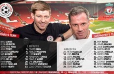 Some of Liverpool's most famous names are back at Anfield today