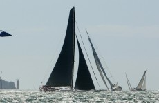 Rambler 100 racing yacht capsizes off Cork; all 21 rescued