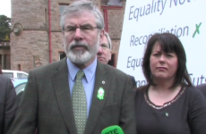 """Active abstentionists"" - Adams rubbishes talk of Sinn Féin sitting in Westminster"