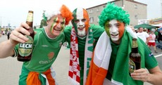 Tesco closed three off-licences for 'public safety' before yesterday's Ireland match