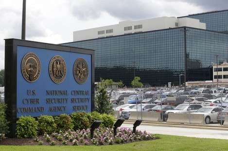 The NSA's headquarters at Fort Meade in Maryland