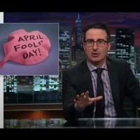 """John Oliver explains why """"April Fools' Day is to comedy as St. Patrick's Day is to Irish culture"""""""