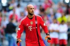 Pepe Reina prefers warming the bench at a 'major club'
