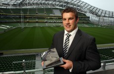 Leinster's O'Brien wins Player of the Year award