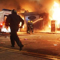 Teenage boy charged with murdering pensioner in London riots