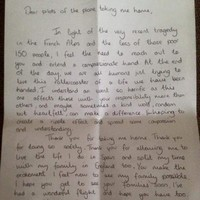 A pilot shared this heartwarming letter from passenger prompted by Germanwings tragedy