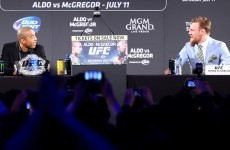 Here's what went down at today's UFC 189 world tour event in Dublin