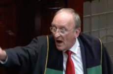 Seán Barrett got into another almighty row with a TD in the Dáil this evening