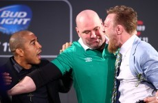 In pics: Conor McGregor and UFC champion Jose Aldo in Dublin