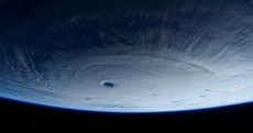Here's what a category 5 super storm looks like from space