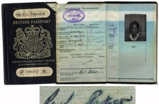Paul Parker's old passport was on sale on ebay for £5000