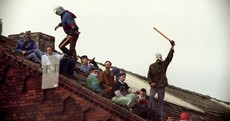 Pictures: This prison riot lasted for 25 days and started 25 years ago today