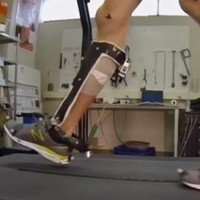 This mechanical exoskeleton could help take the effort out of walking