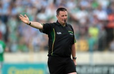 Gavin to take charge of All-Ireland Hurling final