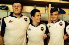 The son of a former Ireland international made his underage debut for France this week