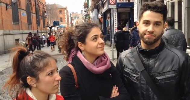Watch: Bemusement the order of the day as Dublin tourists realise all the pubs are shut