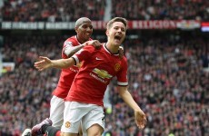 Herrera on the double as Manchester United overtake City into third