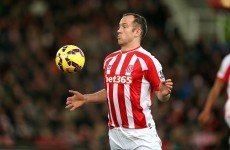 Charlie Adam has just scored from his own half against Chelsea