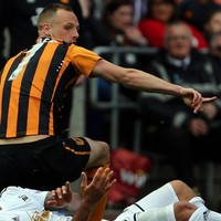 Did Irish international David Meyler deserve to be sent off for this tackle?