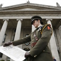 Military ceremony commemorates those who died in 1916 Rising
