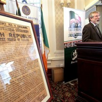 "Gerry Adams thinks Ireland needs ""another Rising"""