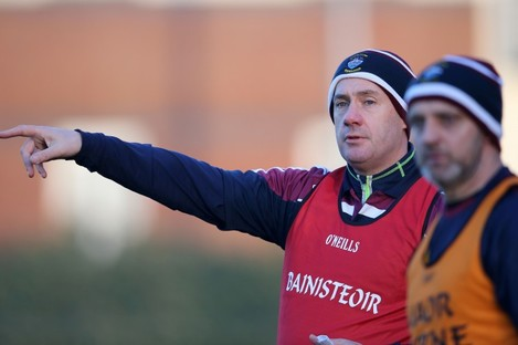 Cribbin is in his first season as Westmeath manager.