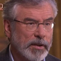 WATCH: Gerry Adams is asked if he has 'blood on his hands' in major US interview